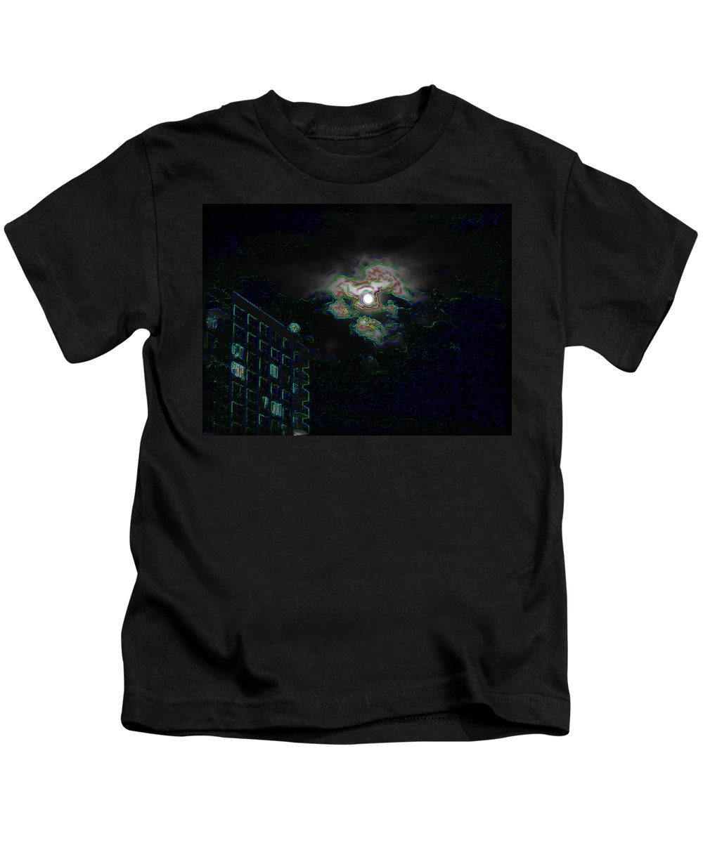 Moon Kids T-Shirt featuring the photograph Moon Glow by Tim Allen