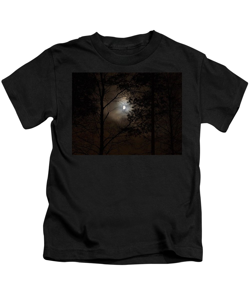 Lehtokukka Kids T-Shirt featuring the photograph Moonshine 01 by Jouko Lehto