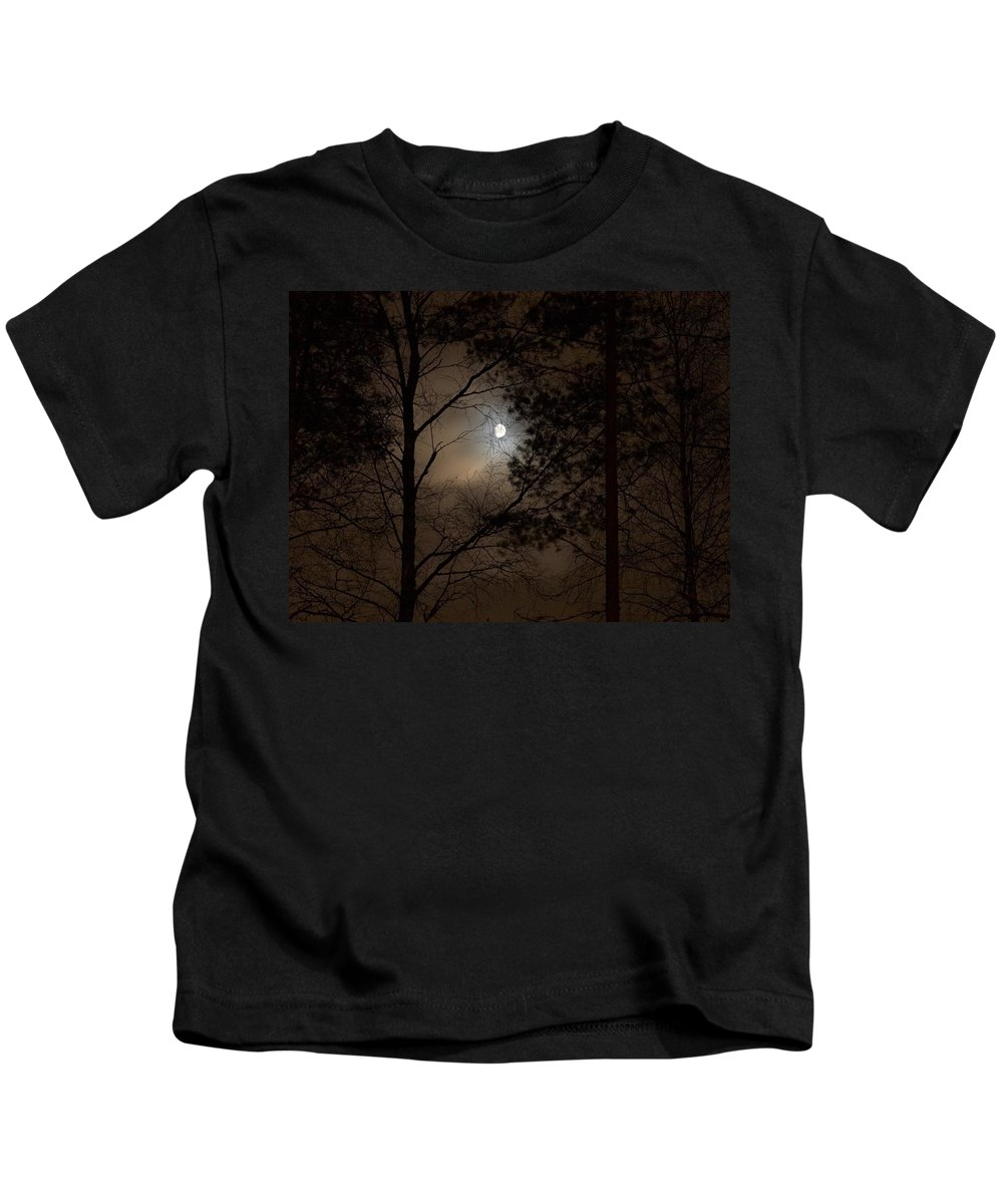 Lehtokukka Kids T-Shirt featuring the photograph Moonshine 05 by Jouko Lehto
