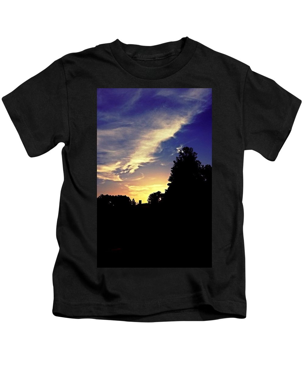 Morning In Helena Kids T-Shirt featuring the photograph Morning In Helena by Maria Urso