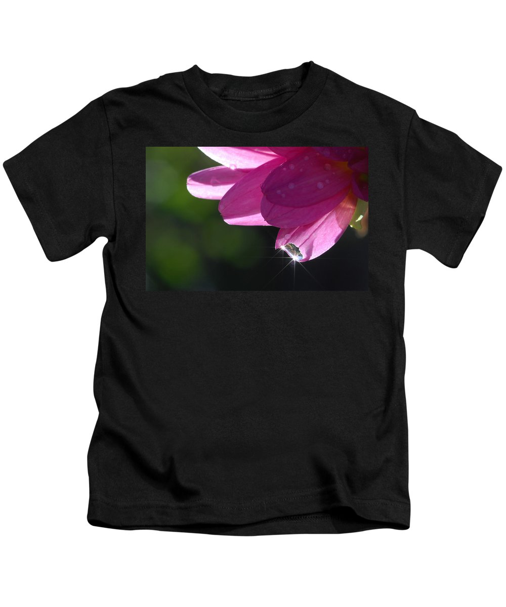 Flower Kids T-Shirt featuring the photograph Morning Star by Donna Blackhall
