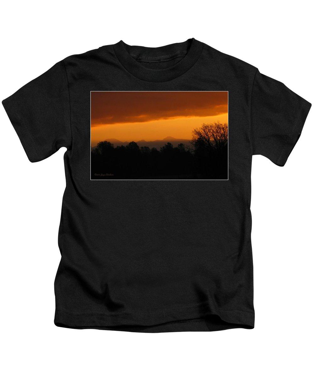 Mount Lassen Kids T-Shirt featuring the photograph Mount Lassen 03 01 11 by Joyce Dickens