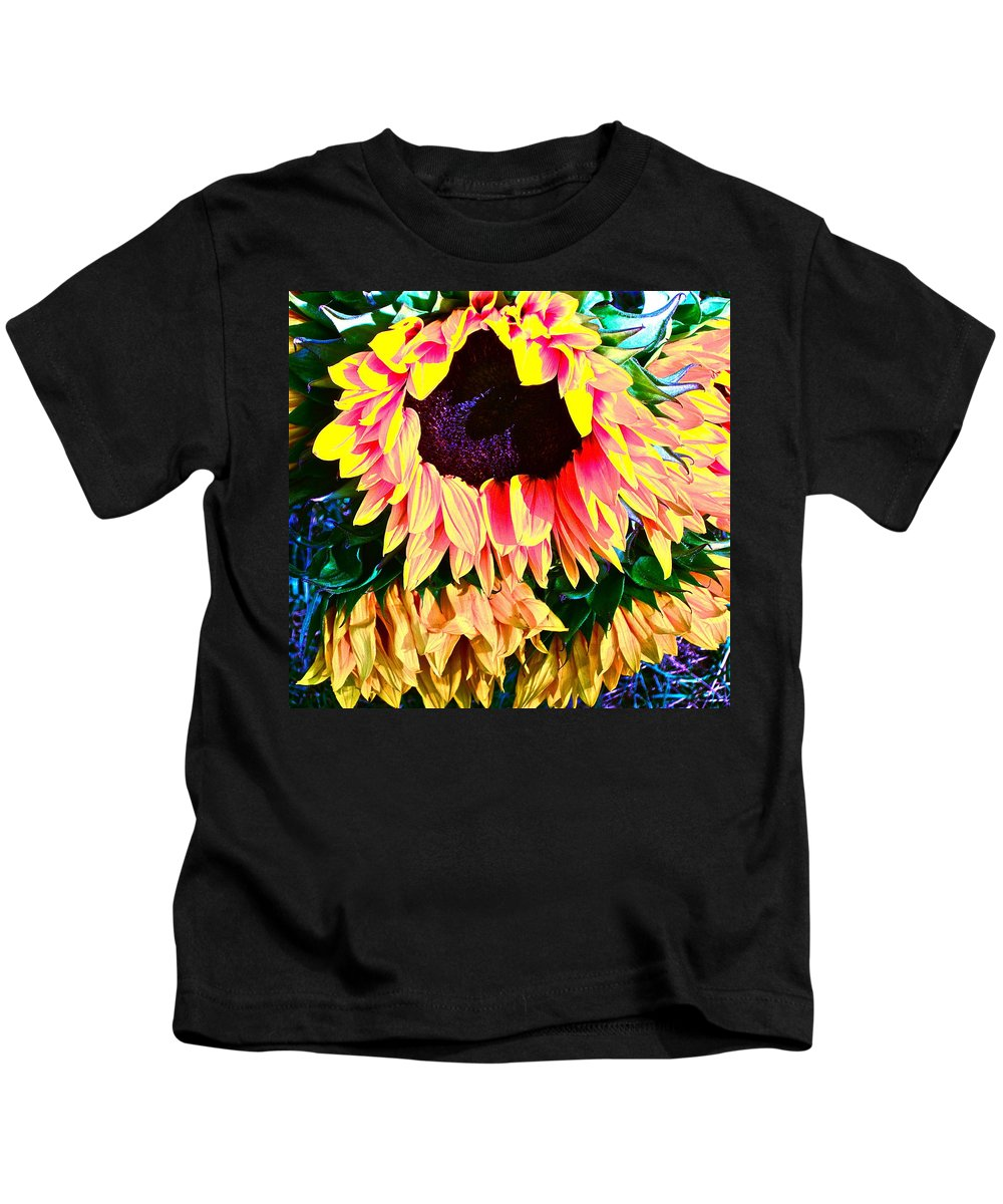 Photograph Kids T-Shirt featuring the photograph Mourning by Gwyn Newcombe