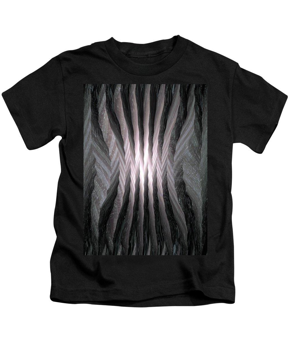Moveonart! Global Gathering. Jacob Kanduch. Kids T-Shirt featuring the digital art Moveonart Omnivibes by Jacob Kanduch