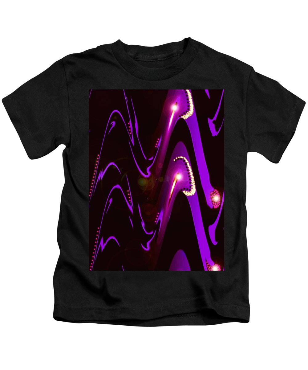 Moveonart! Digital Gallery Kids T-Shirt featuring the digital art Moveonart Speaking Of Mysterious Dream And Revelations by Jacob Kanduch