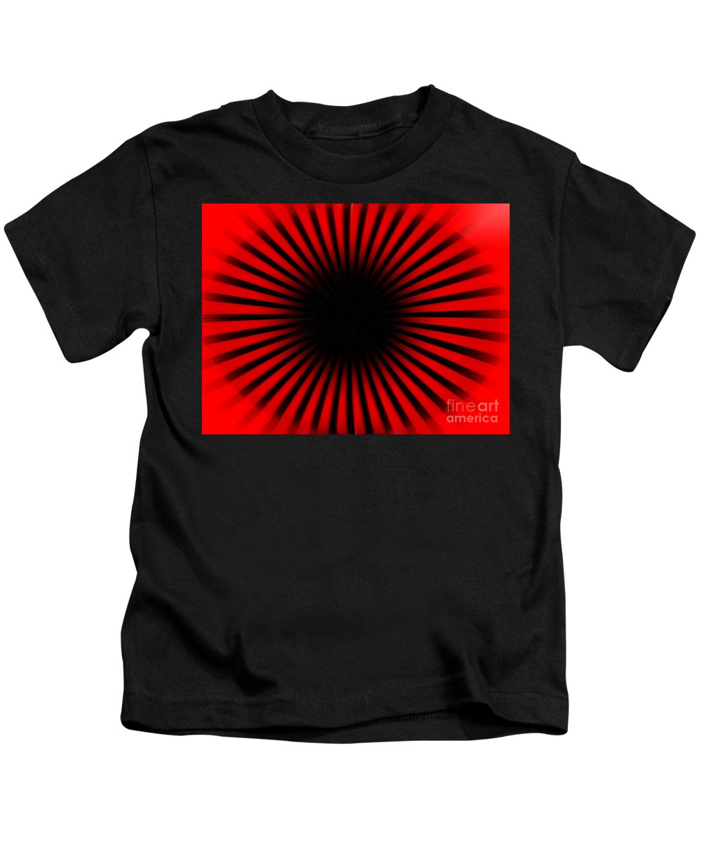 Abstract Kids T-Shirt featuring the photograph Moving by Trena Mara