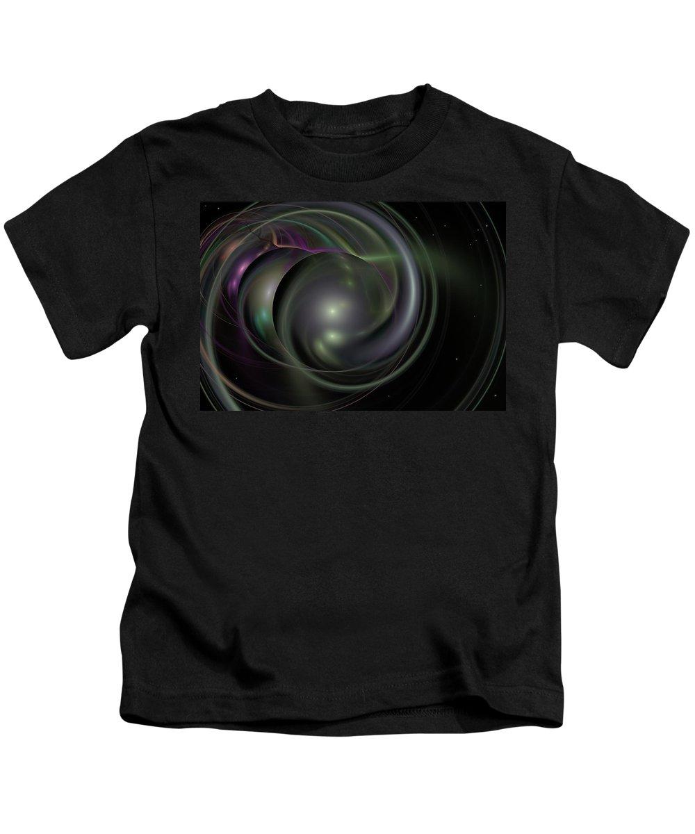 Fantasy Kids T-Shirt featuring the digital art Multiverse by David Lane
