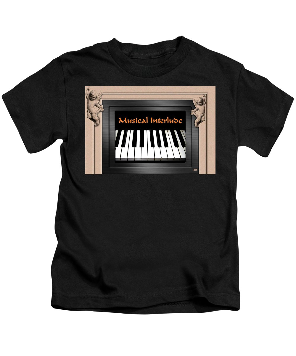 Architecture Kids T-Shirt featuring the digital art Musical Interlude by Will Borden