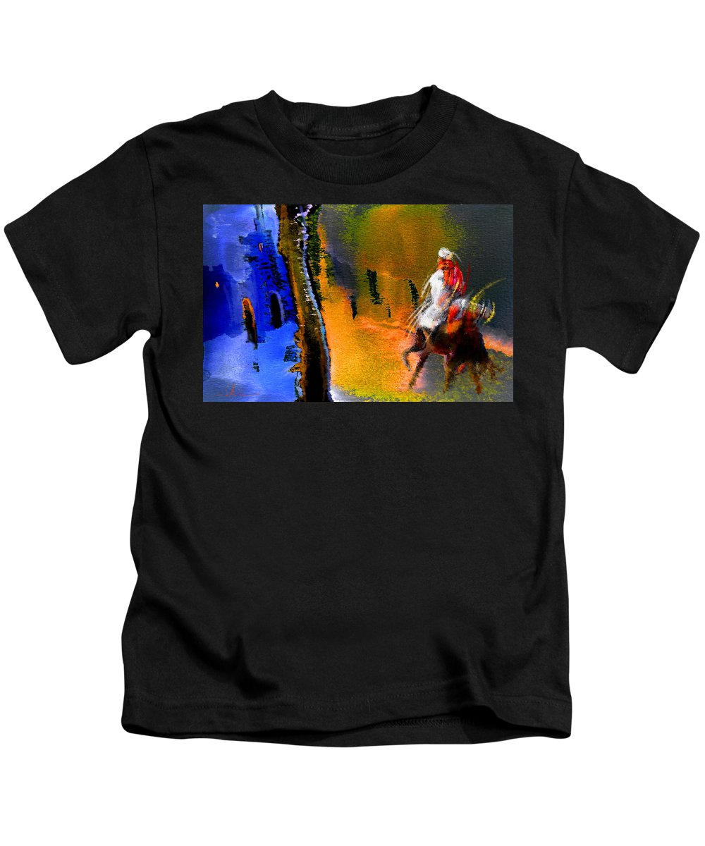 Dream Kids T-Shirt featuring the painting My Oasis by Miki De Goodaboom
