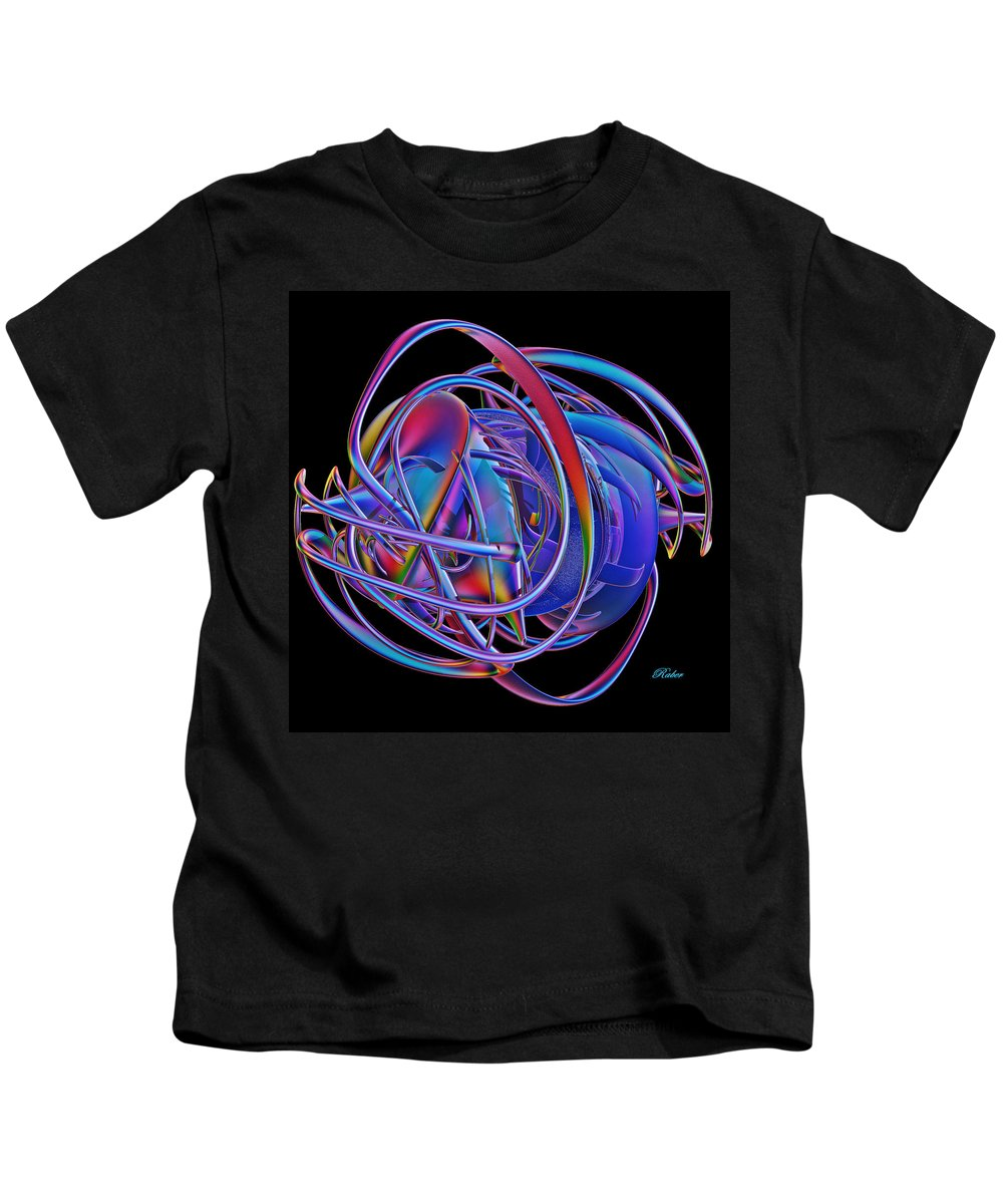 Prehistoric Kids T-Shirt featuring the digital art Mysterious by Sara Raber
