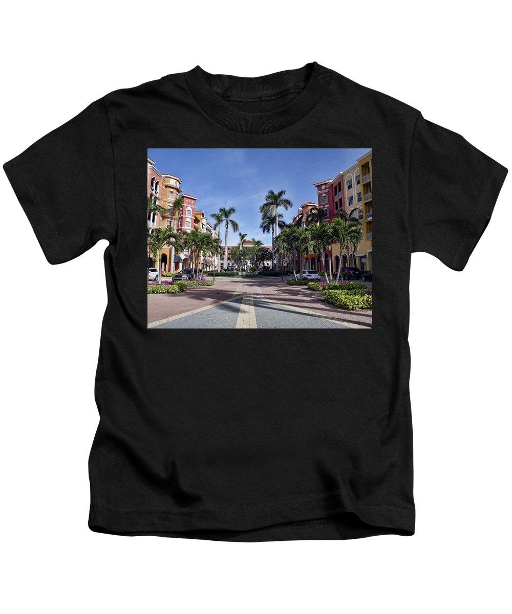 Kids T-Shirt featuring the photograph Naples, Florida I by Tina Baxter