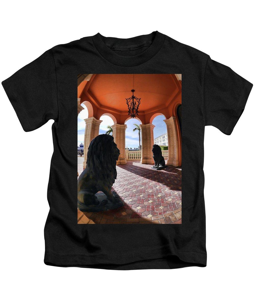 Kids T-Shirt featuring the photograph Naples Florida Ix by Tina Baxter