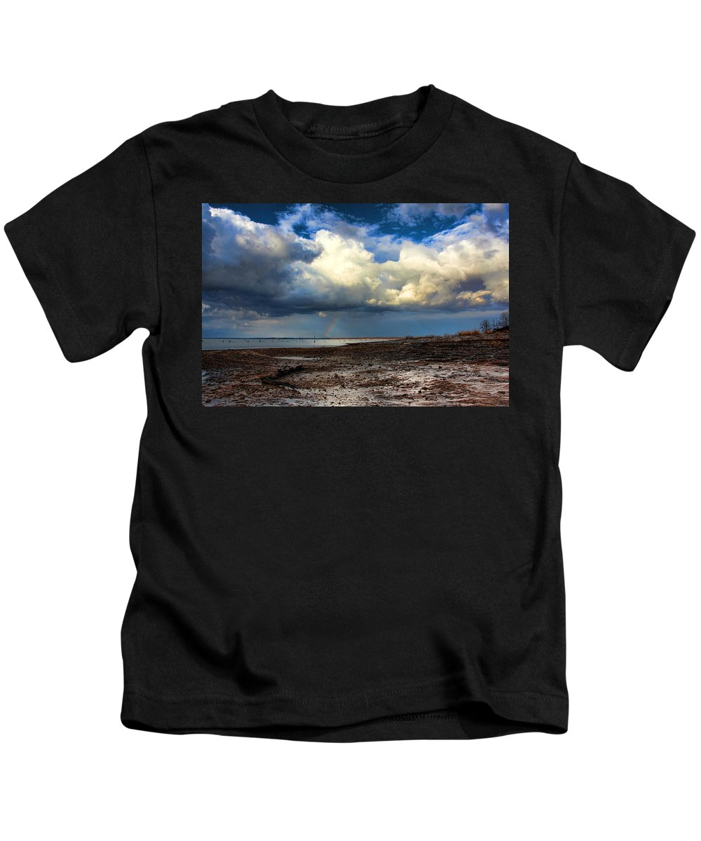Storm Kids T-Shirt featuring the photograph Nature by Carolyn Fletcher