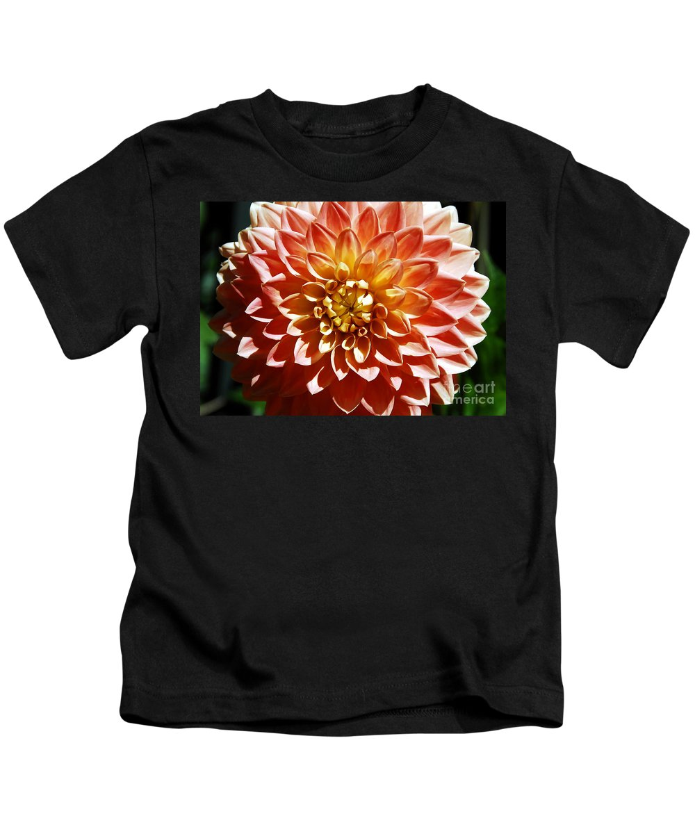 Flower Kids T-Shirt featuring the photograph Nature's Brilliance by David Lee Thompson