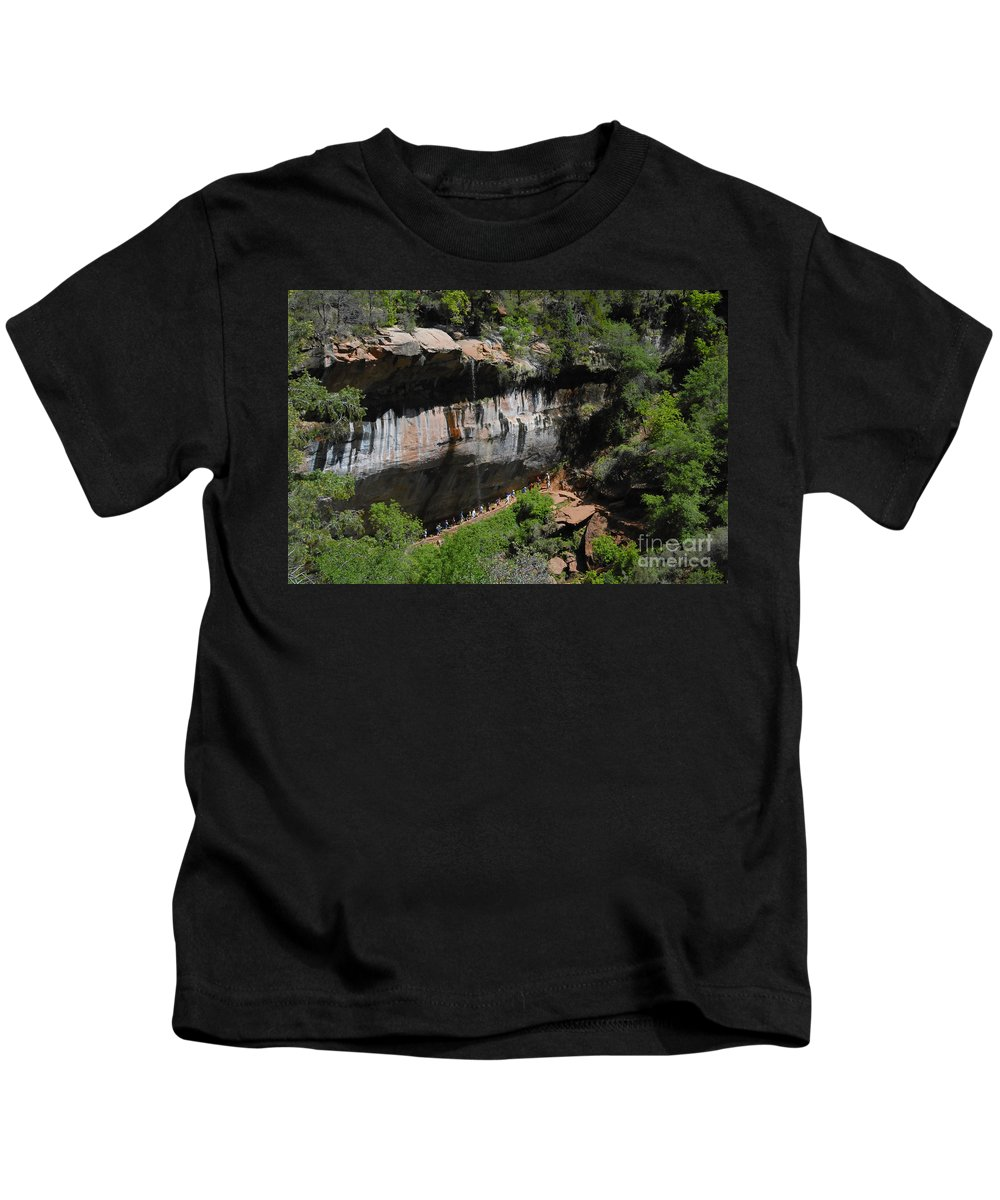 Photography Kids T-Shirt featuring the photograph Natures Classroom by David Lee Thompson
