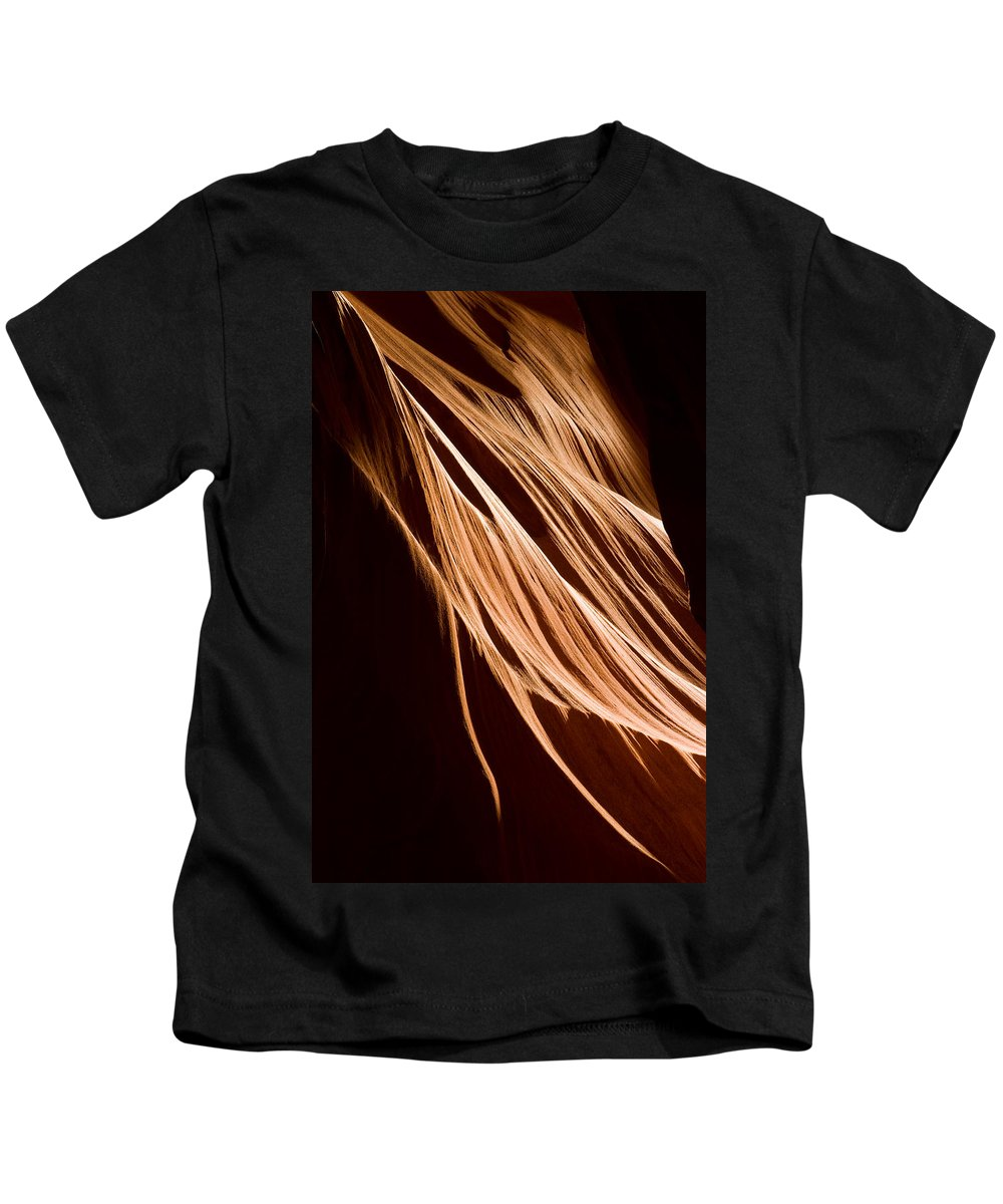 3scape Photos Kids T-Shirt featuring the photograph Natures Lines by Adam Romanowicz