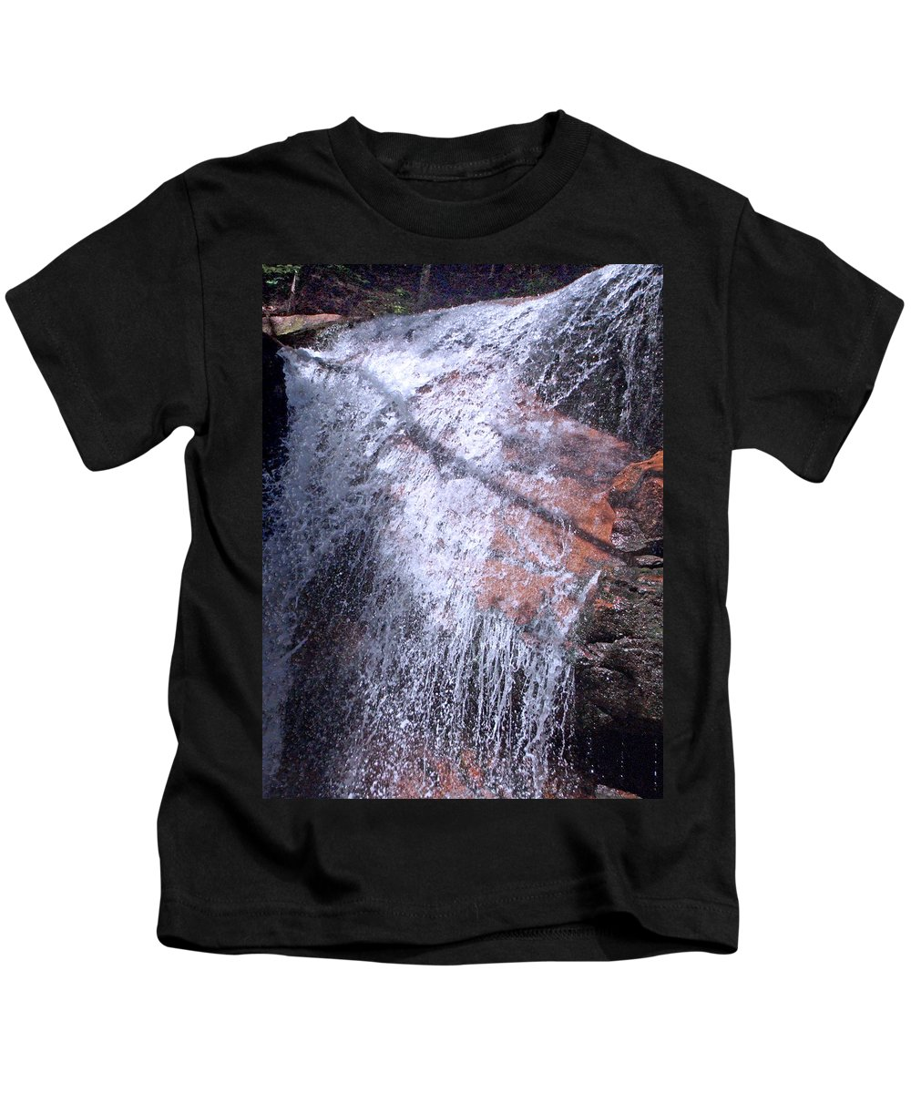 Forest Kids T-Shirt featuring the photograph Nature's Shower Head by Mark Sellers