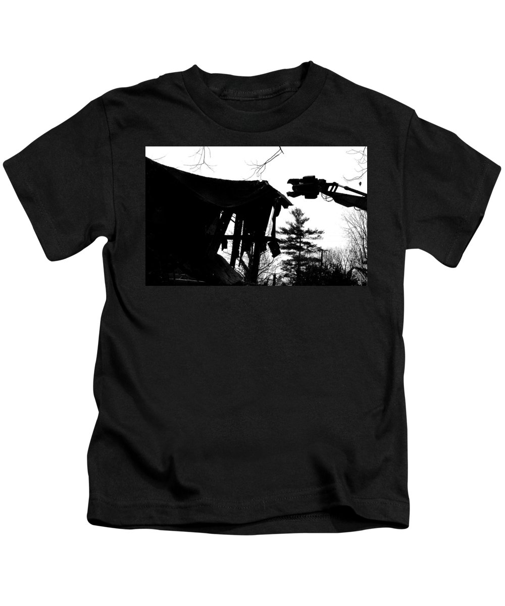 Machine Kids T-Shirt featuring the photograph Nessie by Jean Macaluso
