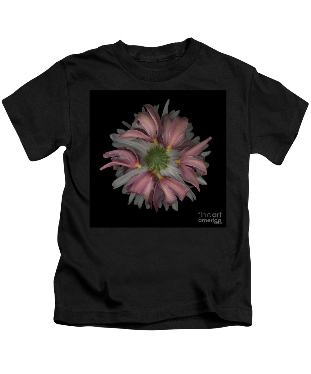 Kids T-Shirt featuring the photograph Nestled by Heather Kirk