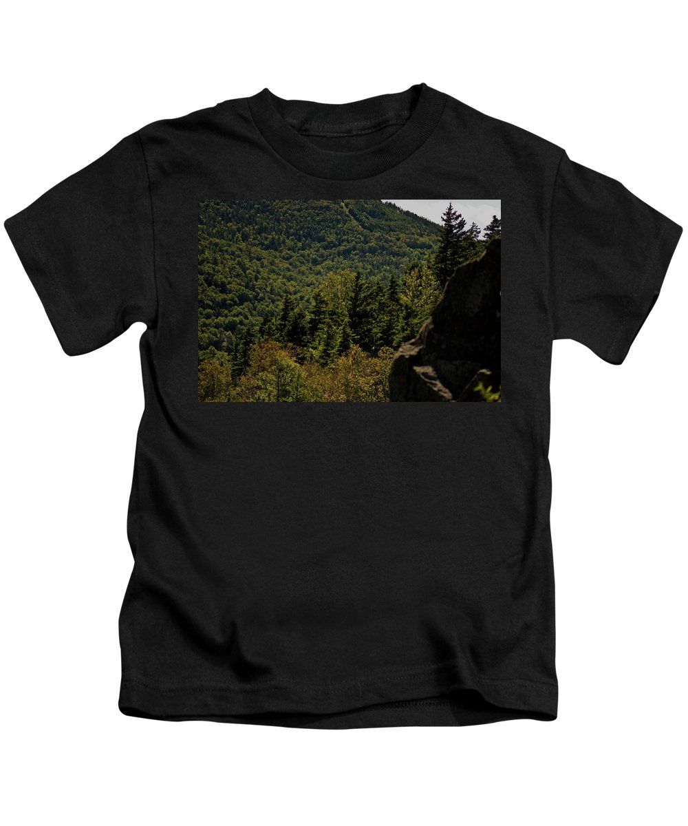 white Mountains Kids T-Shirt featuring the photograph New Hampshire by Paul Mangold
