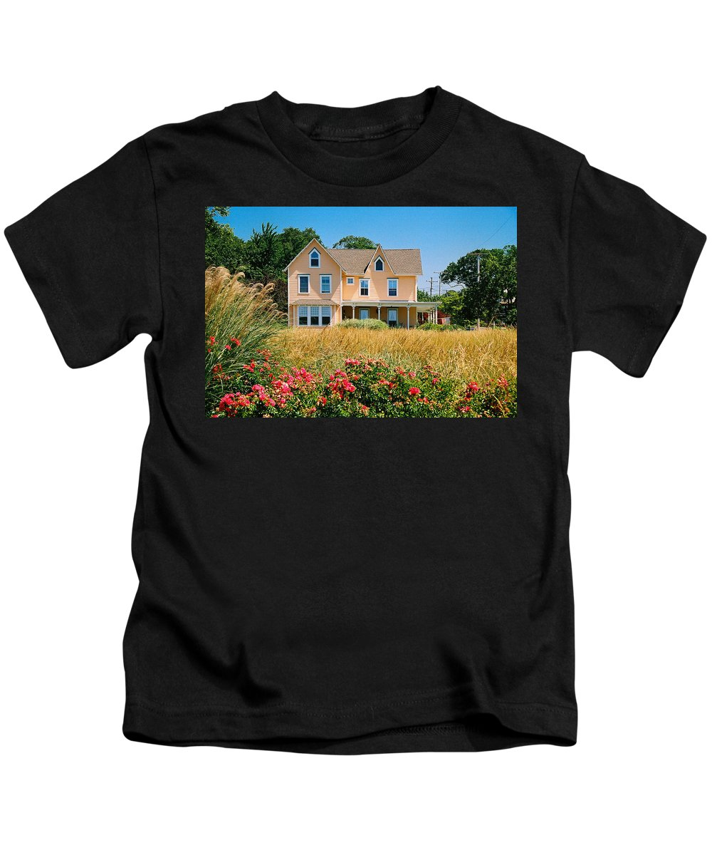 Landscape Kids T-Shirt featuring the photograph New Jersey Landscape by Steve Karol