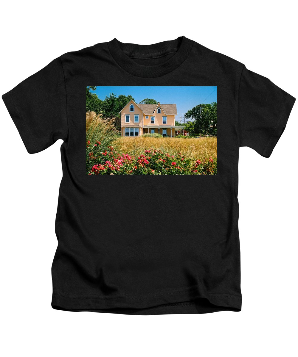 Landscape Kids T-Shirt featuring the photograph New Jersey Landscape by Steve Karol