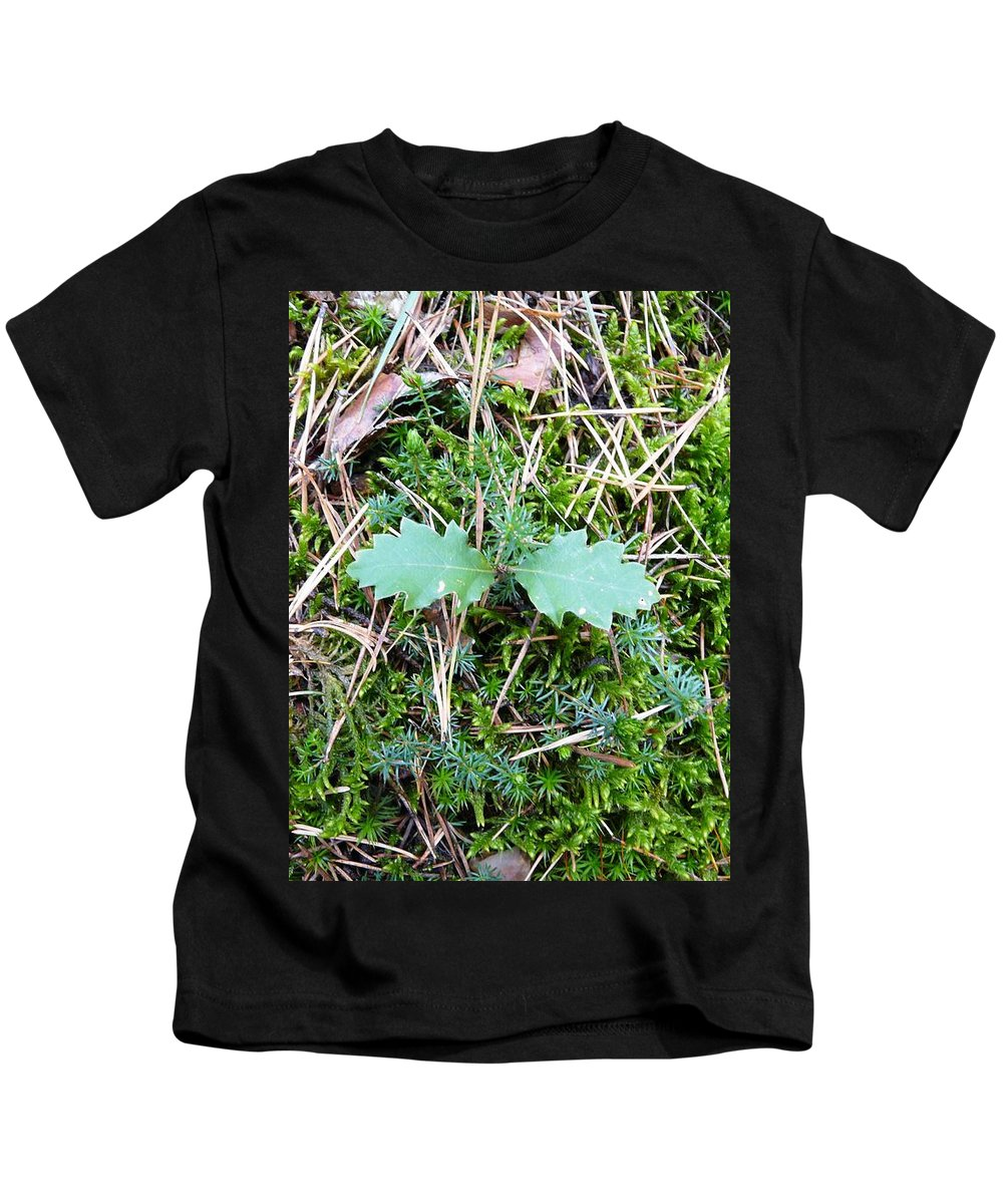 Tree Kids T-Shirt featuring the photograph New Life by Valerie Ornstein