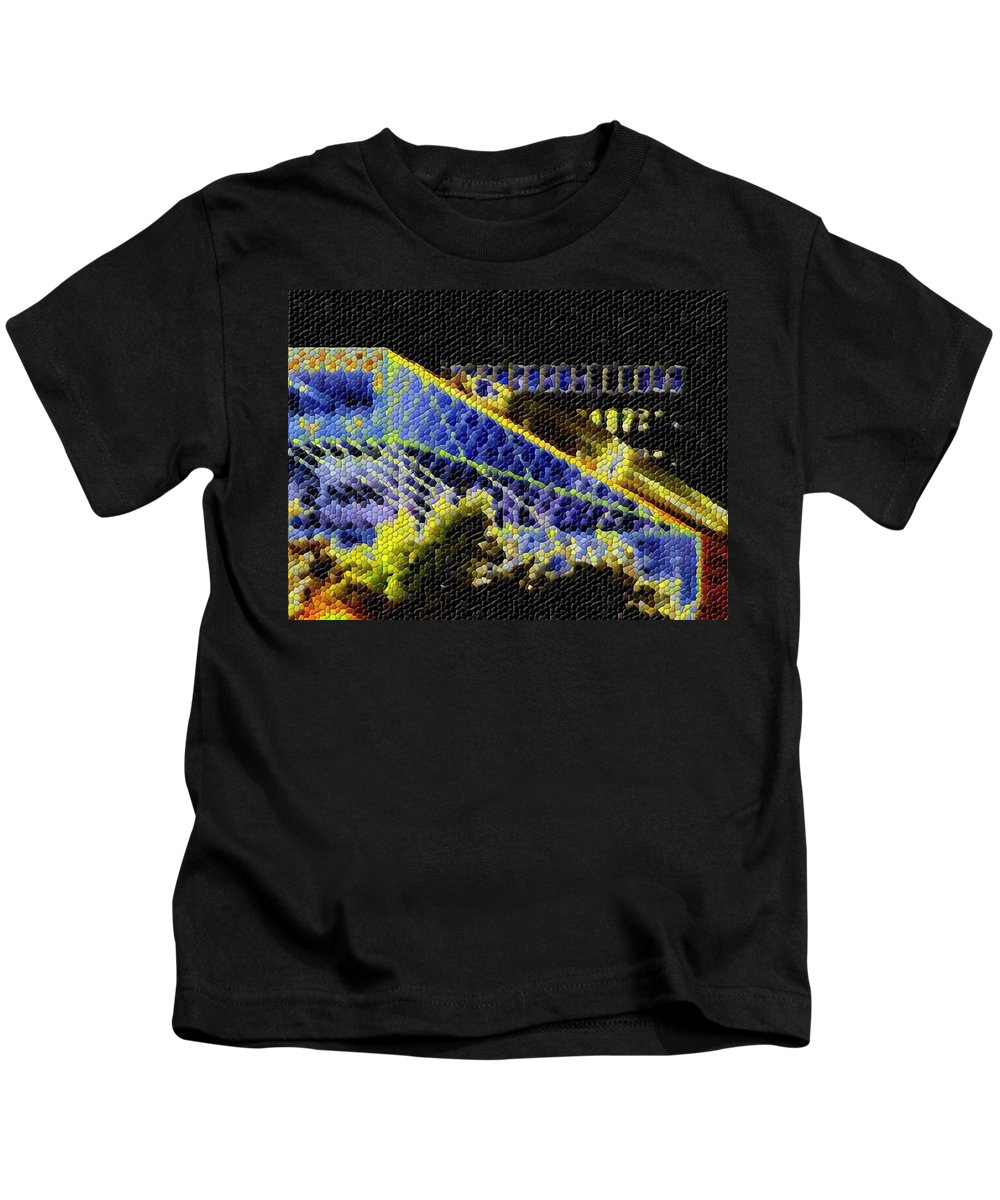 Seattle Kids T-Shirt featuring the photograph Night Lights by Tim Allen