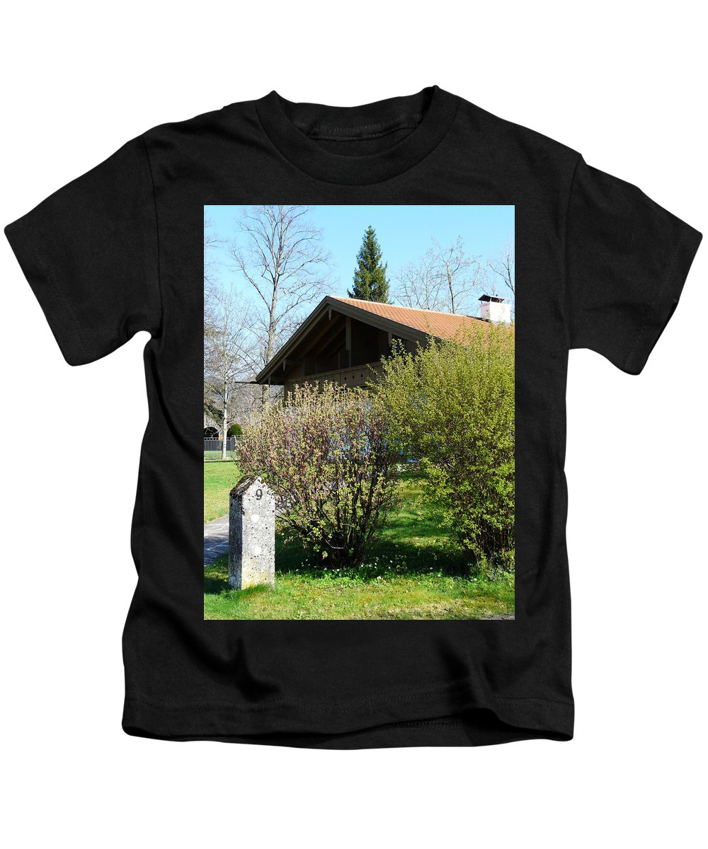 Door Kids T-Shirt featuring the photograph No. 9 by Valerie Ornstein