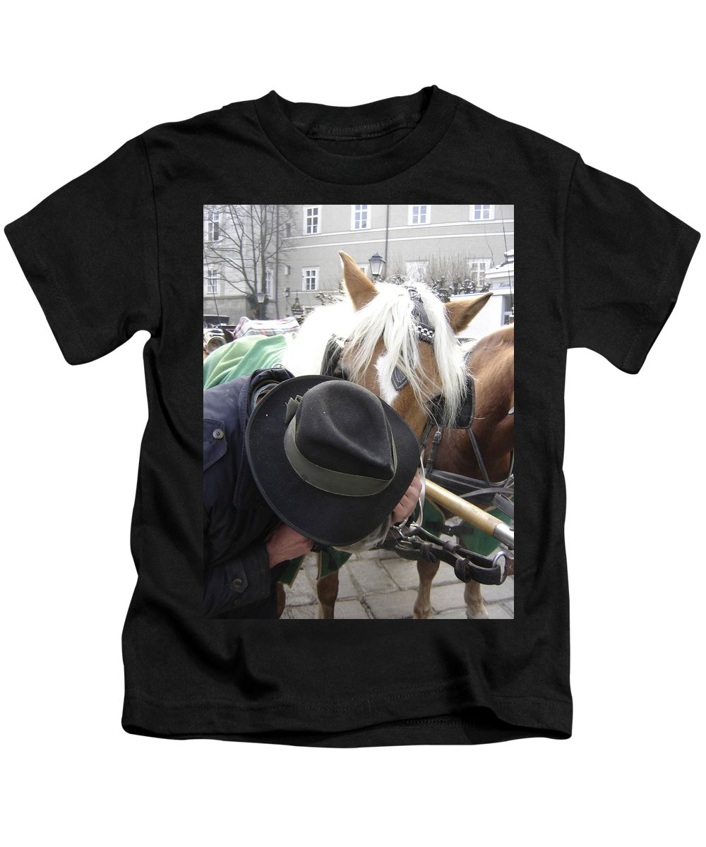 Man Kids T-Shirt featuring the photograph No Secrets by Mary Rogers
