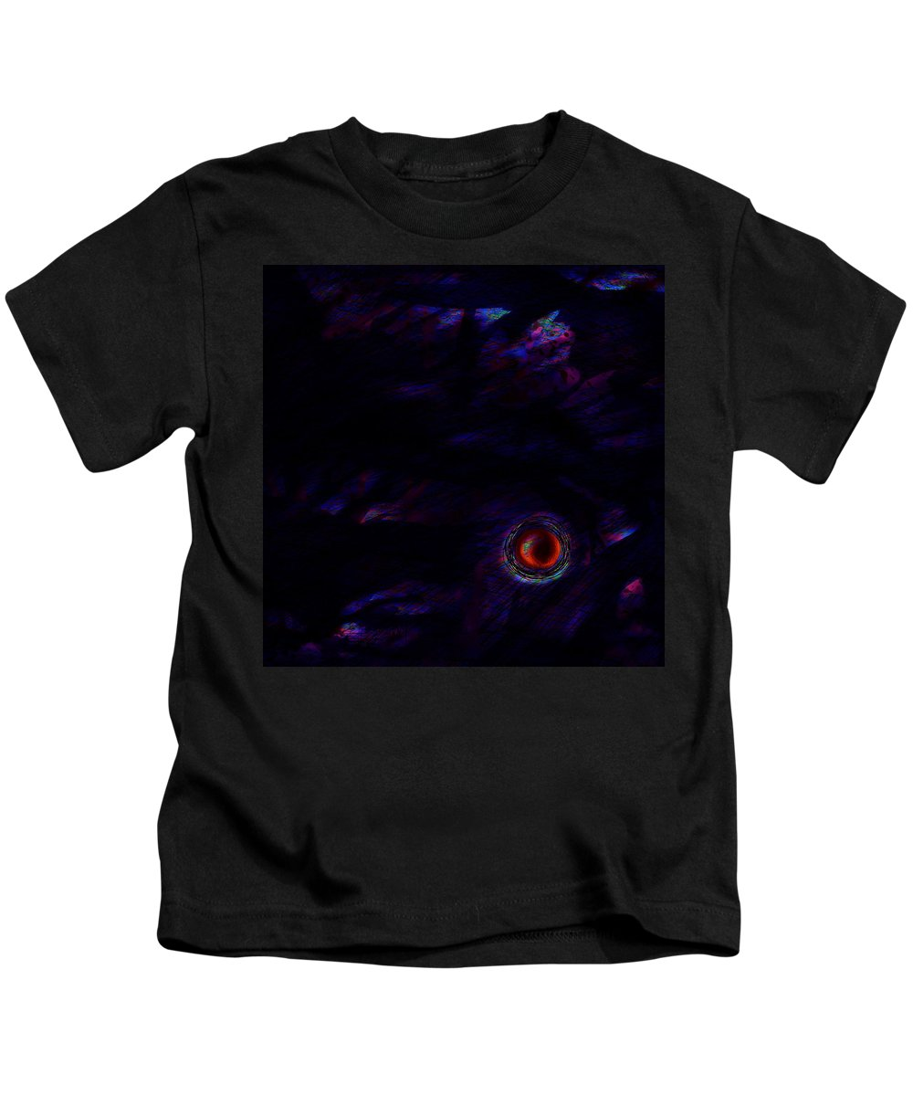 Abstract Kids T-Shirt featuring the digital art No Turning Back by Rachel Christine Nowicki