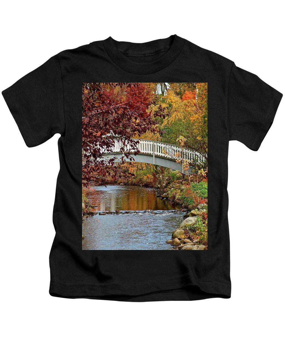 Nature Kids T-Shirt featuring the photograph Normandy Village by Diana Hatcher