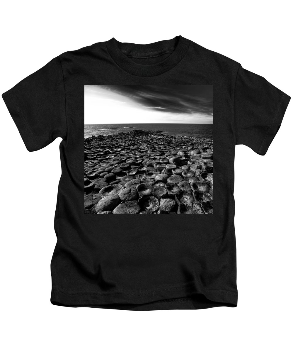 Causeway Kids T-Shirt featuring the photograph Northern Ireland 54 by Avril Christophe