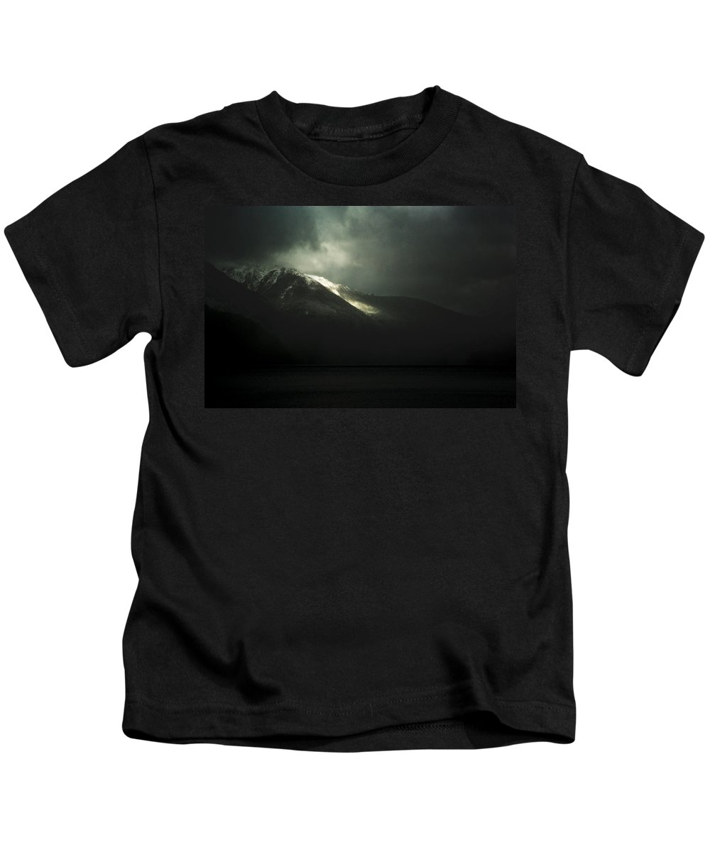 Argentina Kids T-Shirt featuring the photograph Nothing Else by Osvaldo Hamer