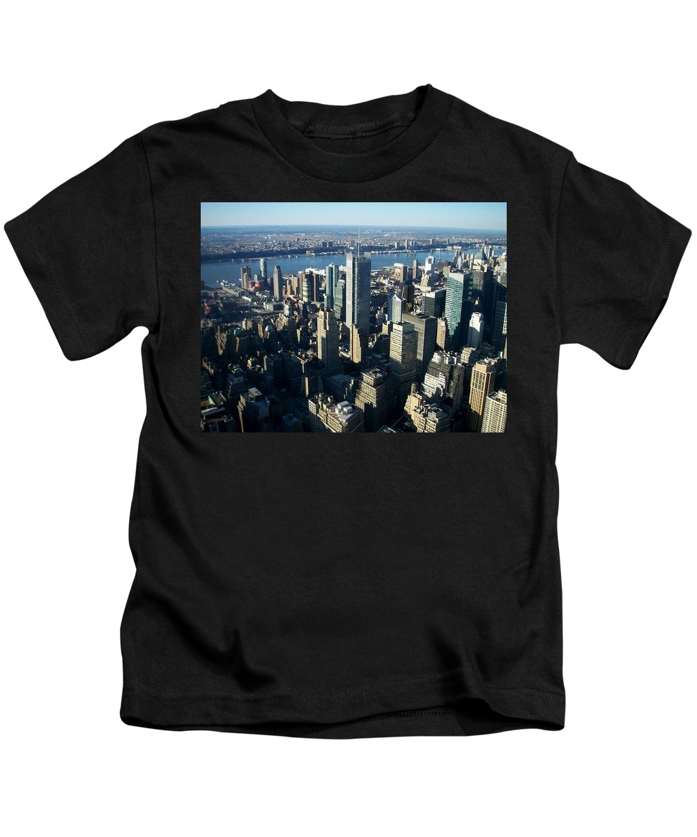 Nyc Kids T-Shirt featuring the photograph Nyc 1 by Anita Burgermeister