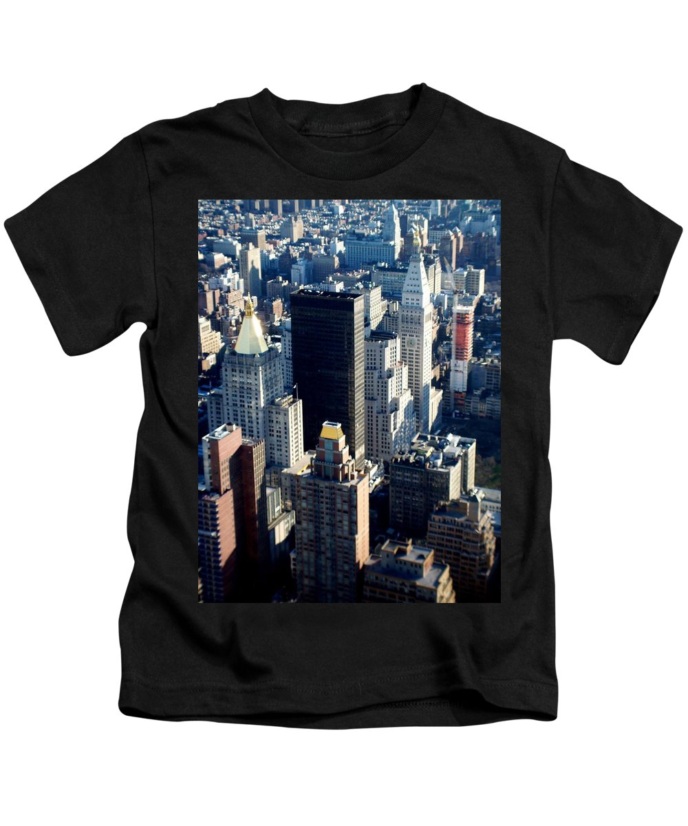 Nyc Kids T-Shirt featuring the photograph Nyc 2 by Anita Burgermeister