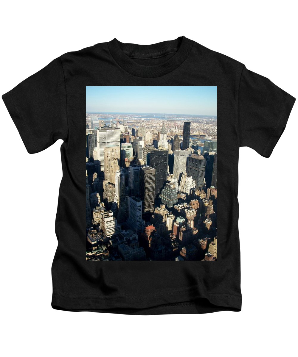 Nyc Kids T-Shirt featuring the photograph Nyc 3 by Anita Burgermeister