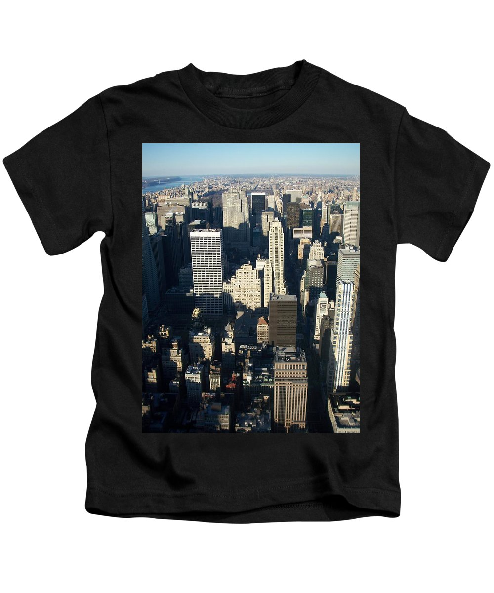 Nyc Kids T-Shirt featuring the photograph Nyc 5 by Anita Burgermeister