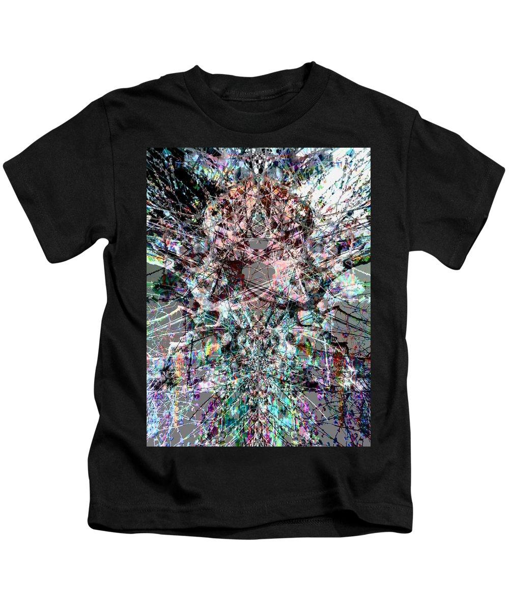 Deep Kids T-Shirt featuring the digital art Oa-1966 by Standa1one