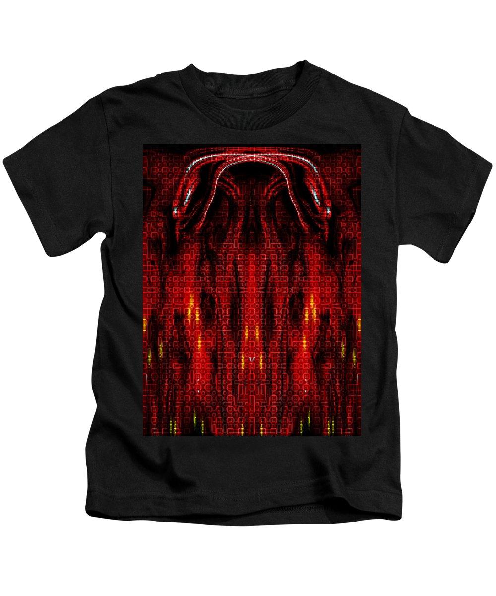 Deep Kids T-Shirt featuring the digital art Oa-1999 by Standa1one