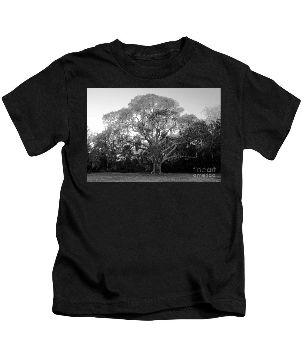Oak Tree Kids T-Shirt featuring the photograph Oak Tree by David Lee Thompson