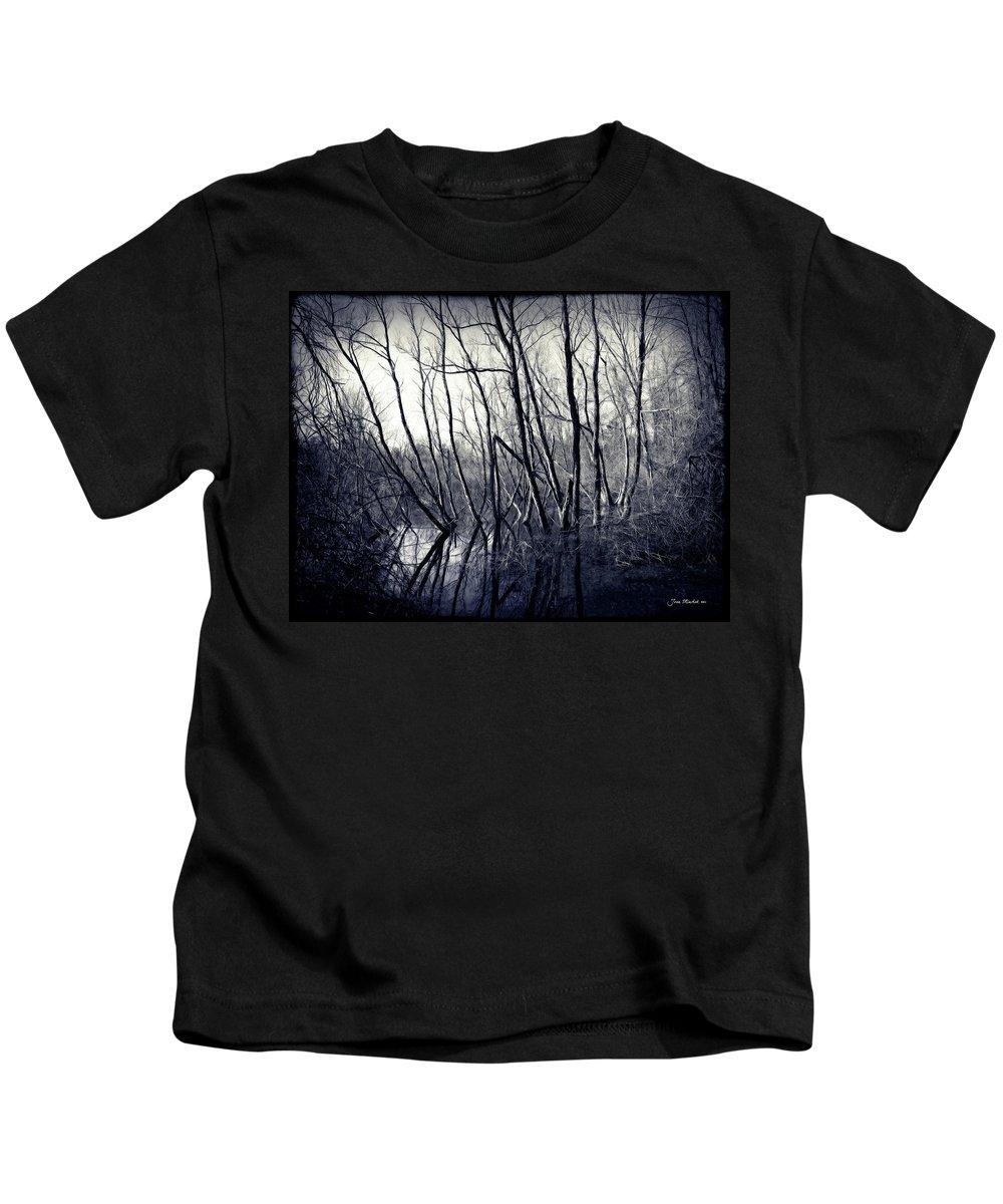 Ohio Kids T-Shirt featuring the photograph Ohio Metro Pond by Joan Minchak