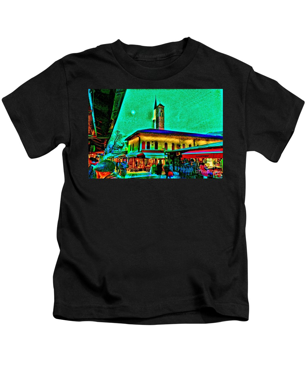 Hip Kids T-Shirt featuring the photograph Old Sarajevo by Jasmin Hrnjic