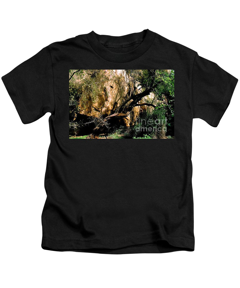 Trees Kids T-Shirt featuring the photograph Old Tree by Kathy McClure
