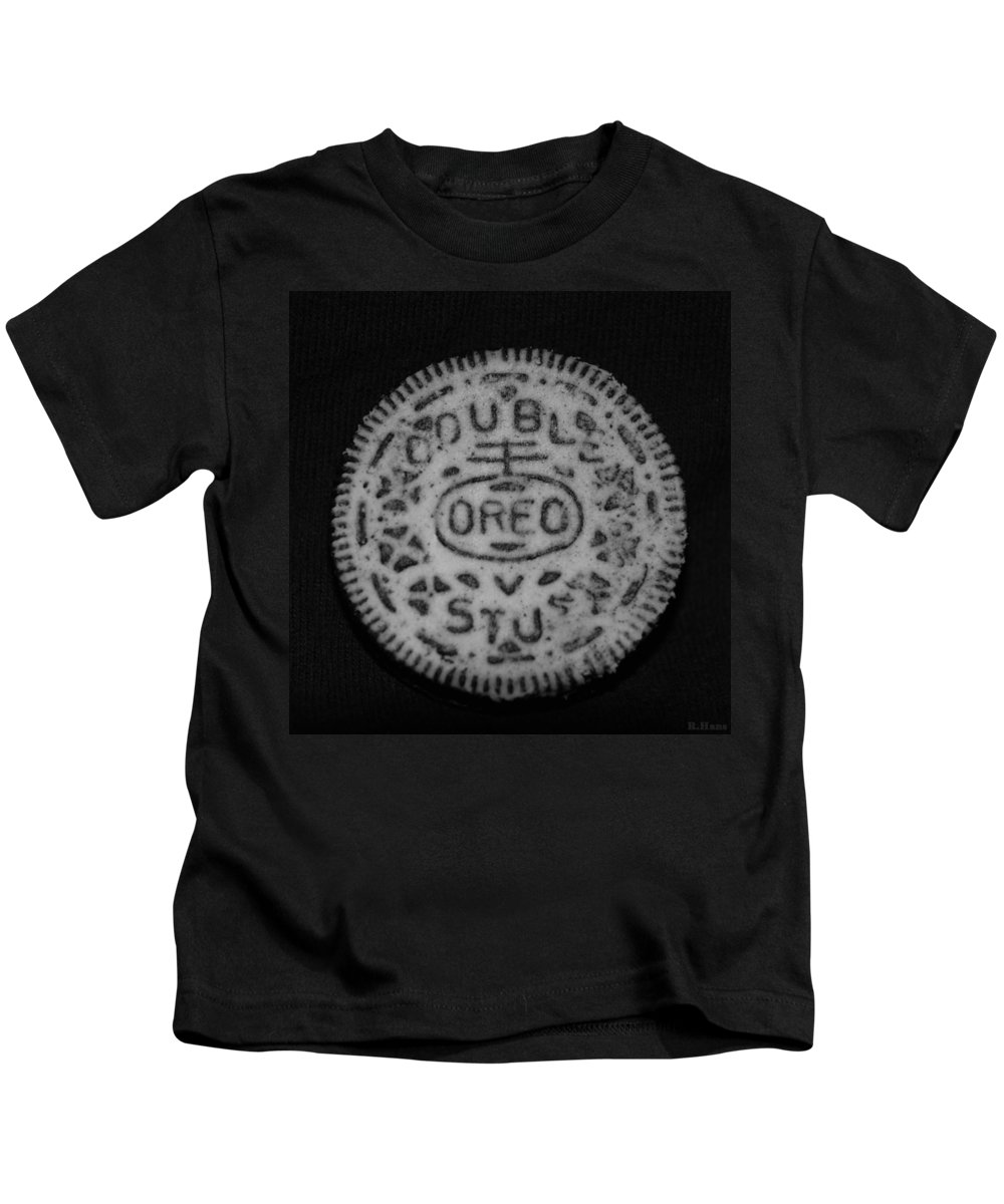 Oreo Kids T-Shirt featuring the photograph Oreo In Matte Finish by Rob Hans