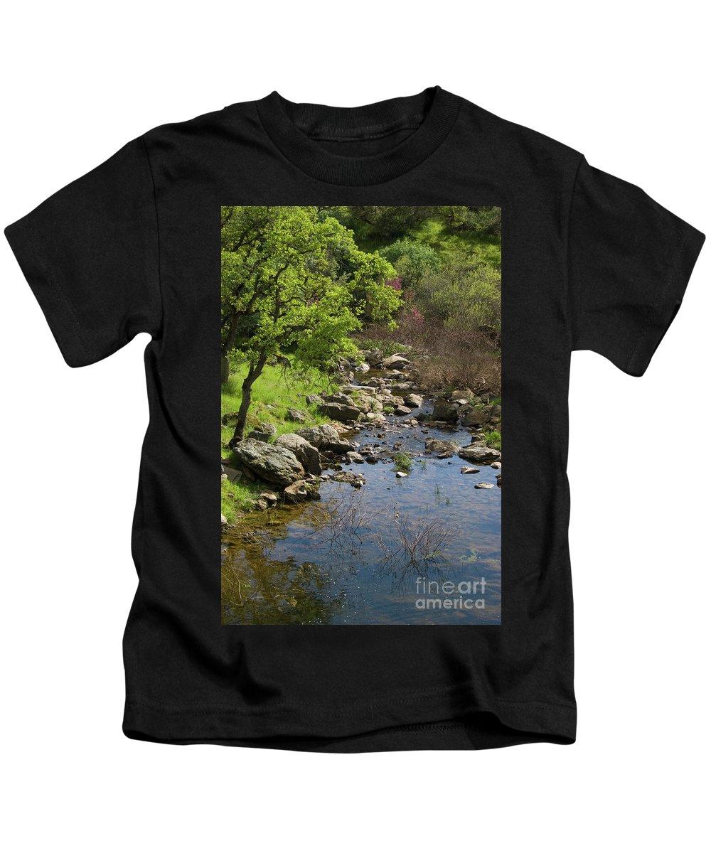 Oak Kids T-Shirt featuring the photograph Owl Creek by Jim And Emily Bush