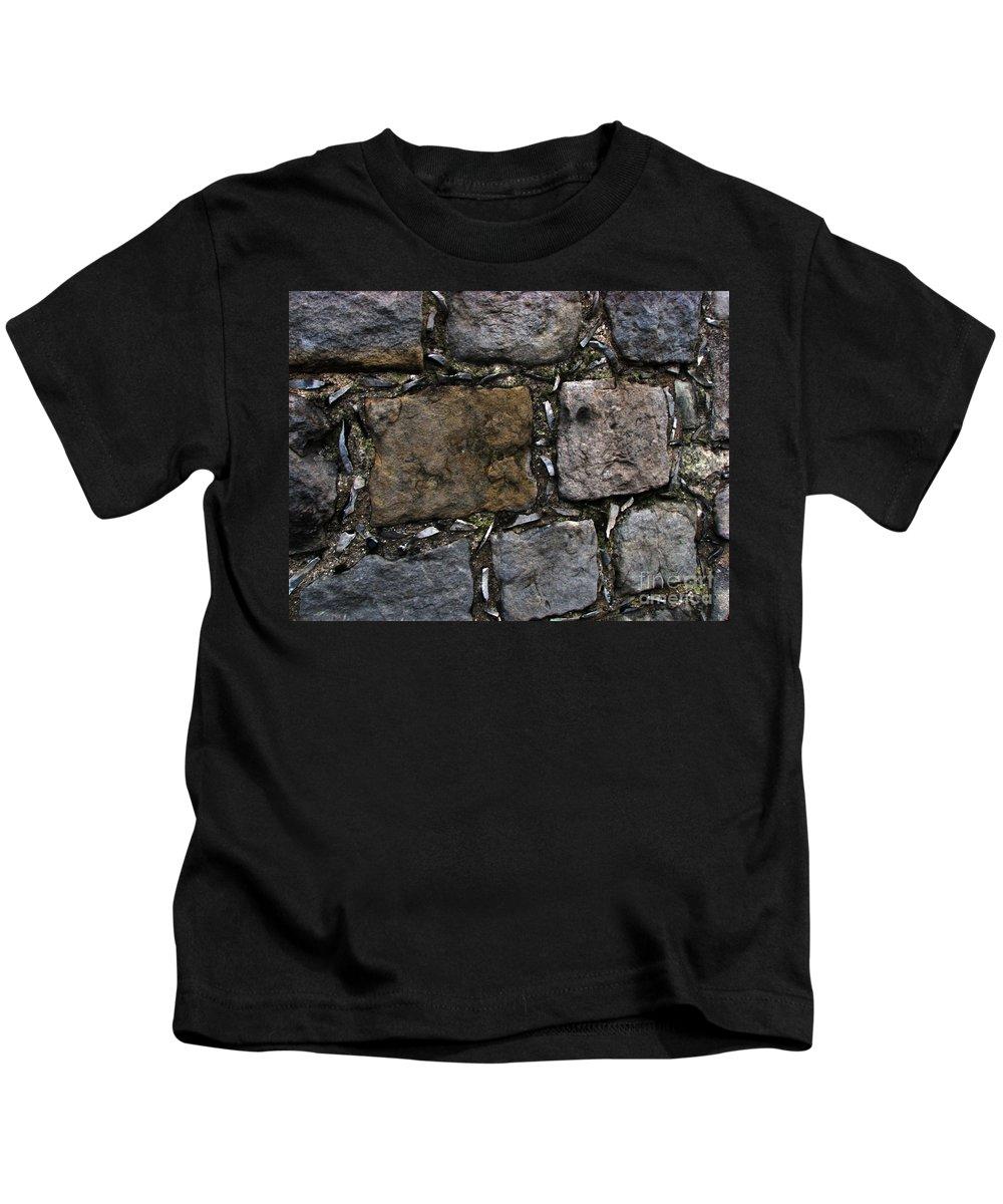 Bath Kids T-Shirt featuring the photograph Palace Walls by Amanda Barcon