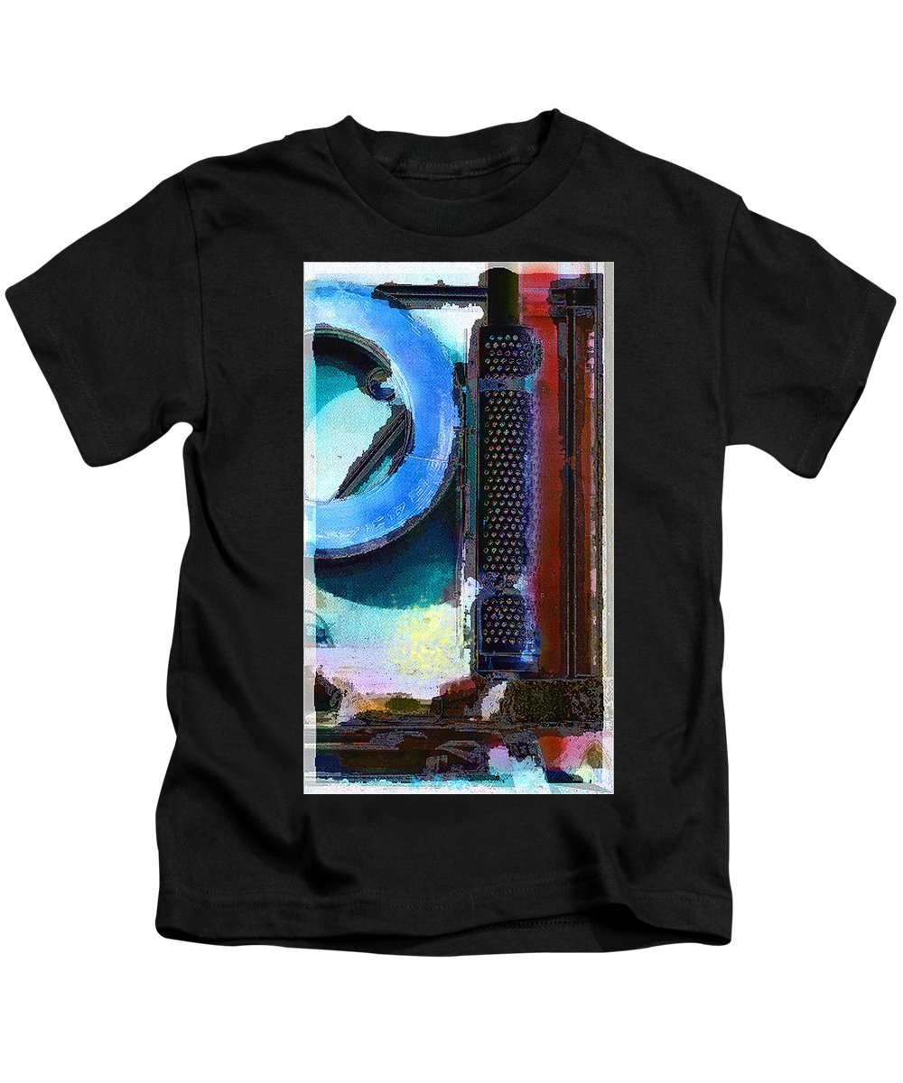 Abstract Kids T-Shirt featuring the photograph panel one from Centrifuge by Steve Karol