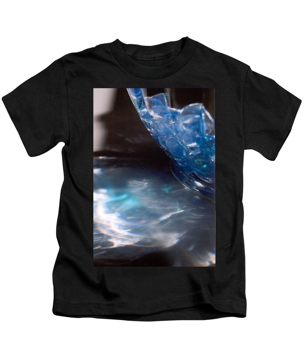 Abstract Kids T-Shirt featuring the photograph Panel One From Swirl by Steve Karol