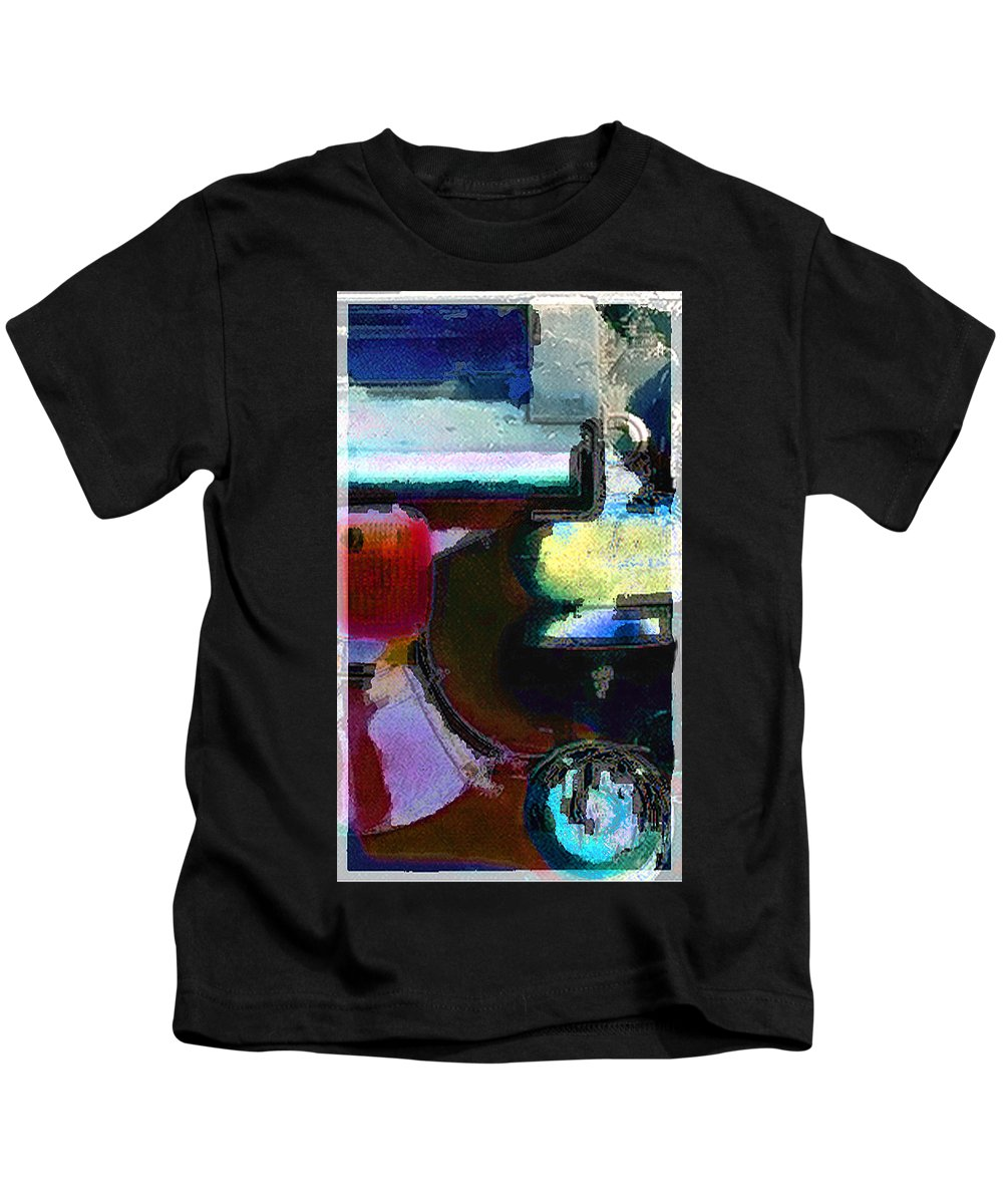 Abstract Kids T-Shirt featuring the photograph panel two from Centrifuge by Steve Karol